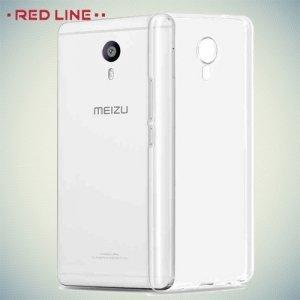 Red Line силиконовый чехол для Meizu M3 Max - Прозрачный