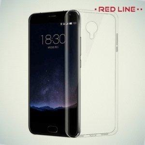 Red Line силиконовый чехол для Meizu M3 Note - Прозрачный