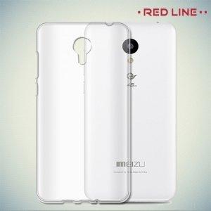 Red Line силиконовый чехол для Meizu m3s mini - Прозрачный