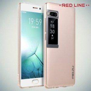 Red Line силиконовый чехол для Meizu Pro 7 - Прозрачный
