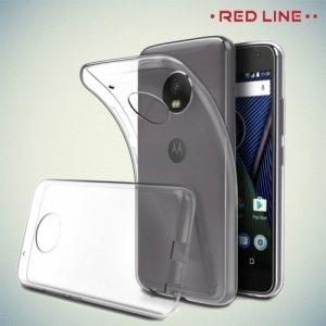 Red Line силиконовый чехол для Motorola Moto C - Прозрачный