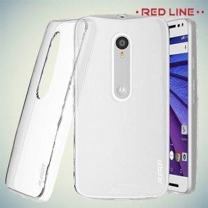 Red Line силиконовый чехол для Motorola Moto G Gen.3 - Прозрачный