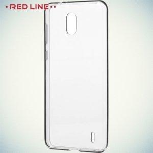 Red Line силиконовый чехол для Nokia 2 - Прозрачный