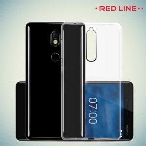 Red Line прозрачный силиконовый чехол для Nokia 6.1 2018