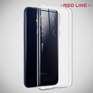 Red Line  силиконовый чехол для Nokia 8.1