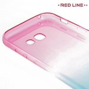 Red Line силиконовый чехол для Samsung Galaxy A5 2017 SM-A520F - Градиент