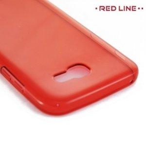 Red Line силиконовый чехол для Samsung Galaxy A5 2017 SM-A520F - Красный