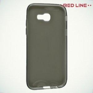 Red Line силиконовый чехол для Samsung Galaxy A5 2017 SM-A520F - Полупрозрачный черный