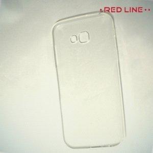 Red Line силиконовый чехол для Samsung Galaxy A7 (2017) - Прозрачный