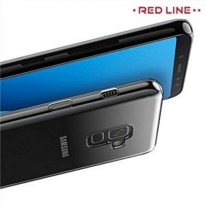 Red Line силиконовый чехол для Samsung Galaxy A8 2018 - Прозрачный