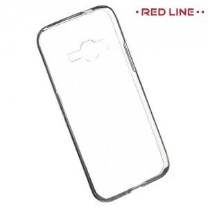 Red Line силиконовый чехол для Samsung Galaxy J1 2016 SM-J120F - Прозрачный