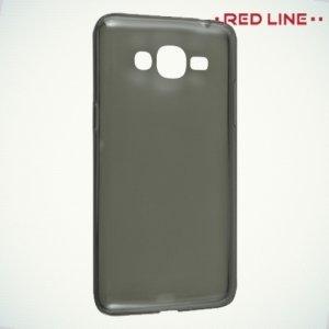 Red Line силиконовый чехол для Samsung Galaxy J2 Prime  - Полупрозрачный черный