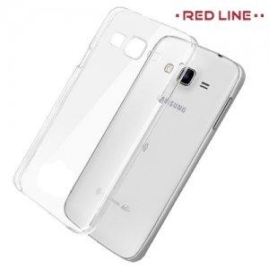 Red Line силиконовый чехол для Samsung Galaxy J3 2016 SM-J320F - Прозрачный