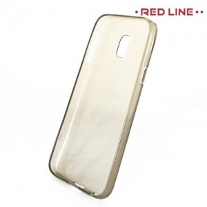 Red Line силиконовый чехол для Samsung Galaxy J3 2017 SM-J330F - Полупрозрачный черный