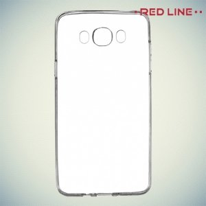 Red Line силиконовый чехол для Samsung Galaxy J7 2016 SM-J710F - Прозрачный