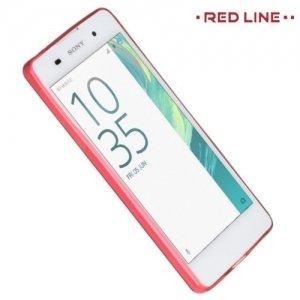 Red Line силиконовый чехол для Sony Xperia E5 F3311 - Полупрозрачный красный