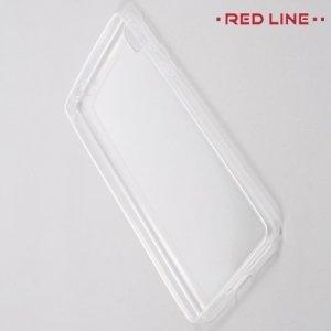 Red Line силиконовый чехол для Sony Xperia E5 F3311 - Прозрачный
