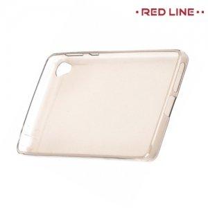 Red Line силиконовый чехол для Sony Xperia E5 F3311 - Полупрозрачный черный