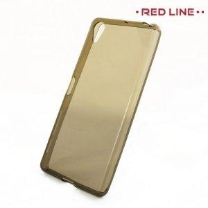 Red Line силиконовый чехол для Sony Xperia X - Серый