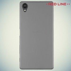 Red Line силиконовый чехол для Sony Xperia X - Прозрачный