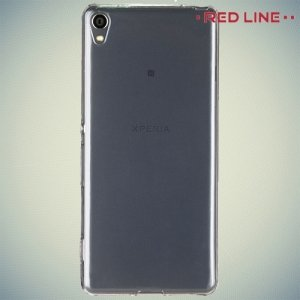 Red Line силиконовый чехол для Sony Xperia XA - Прозрачный