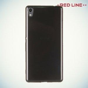 Red Line силиконовый чехол для Sony Xperia XA - Полупрозрачный черный