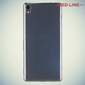 Red Line силиконовый чехол для Sony Xperia XA Ultra - Прозрачный