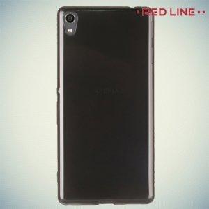 Red Line силиконовый чехол для Sony Xperia XA Ultra - Полупрозрачный черный