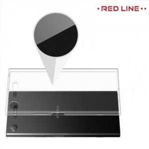 Red Line силиконовый чехол для Sony Xperia XZ1 - Прозрачный