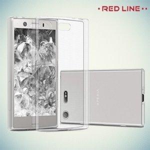 Red Line силиконовый чехол для Sony Xperia XZ1 Compact - Прозрачный