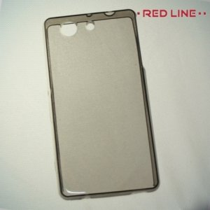 Red Line силиконовый чехол для Sony Xperia Z3 Compact D5803  - Серый