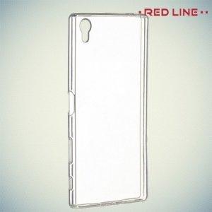Red Line силиконовый чехол для Sony Xperia Z5 Premium - Прозрачный