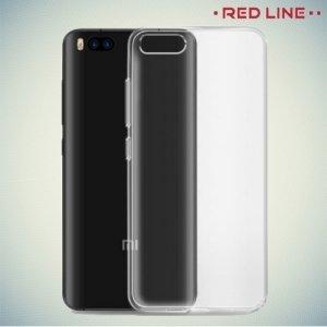 Red Line силиконовый чехол для Xiaomi Mi 6 - Прозрачный