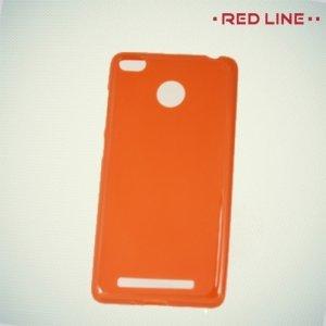 Red Line силиконовый чехол для Xiaomi Redmi 3 Pro / 3s - Красный