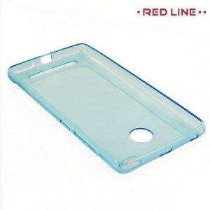 Red Line силиконовый чехол для Xiaomi Redmi 3s - Голубой