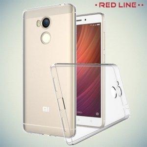 Red Line силиконовый чехол для Xiaomi Redmi 4 Pro / Prime - Прозрачный