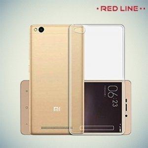 Red Line силиконовый чехол для Xiaomi Redmi 4A - Прозрачный