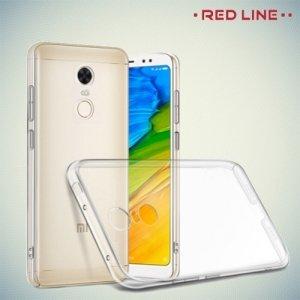 Red Line силиконовый чехол для Xiaomi Redmi 5 - Прозрачный