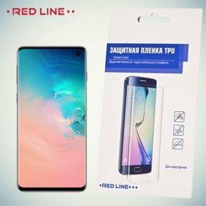 Red Line защитная пленка для Samsung Galaxy S10 на весь экран