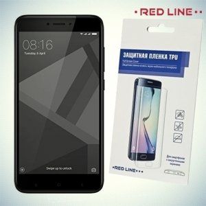 Red Line защитная пленка для Xiaomi Redmi 4 на весь экран