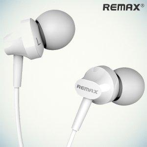 Remax RM-501 Наушники гарнитура с микрофоном -  Белые