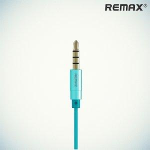 Remax RM-501 Наушники гарнитура с микрофоном -  Синие