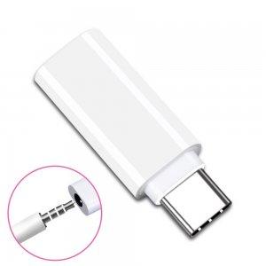 Переходник с USB Type-C на наушники AUX аудио кабель 3,5 мм