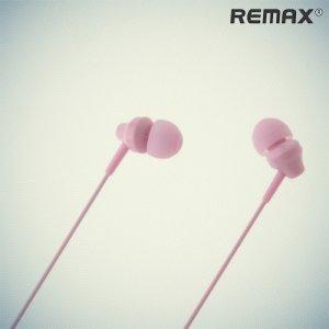 Remax RM-501 Наушники гарнитура с микрофоном - Розовые