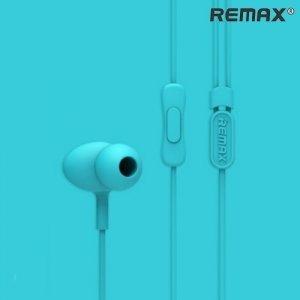 Remax RM-515 наушники гарнитура с микрофоном – Голубой