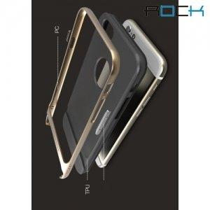 ROCK Royce Series тонкий противоударный чехол для iPhone 6S / 6 - Золотой
