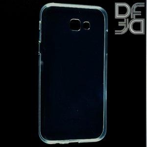 DF aCase силиконовый чехол для Samsung Galaxy A7 (2017)  - Прозрачный