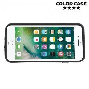 Силиконовый бампер для iPhone 8/7 - Черный