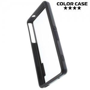 Силиконовый бампер для Sony Xperia Z3 Compact D5803 - Черный