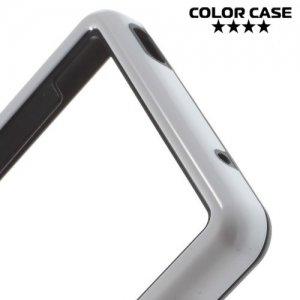 Силиконовый бампер для Sony Xperia Z3 Compact D5803 - Белый